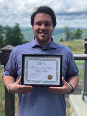 Alex Cochran - Ambassador of the Month July 2020 - 2